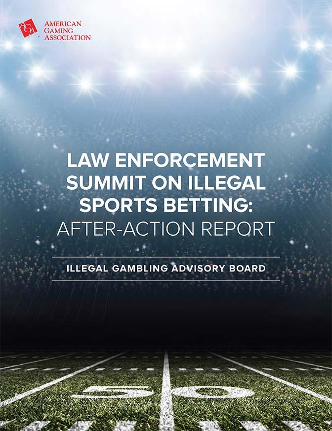 Illegal Gambling Advisory Board – Law Enforcement Summit